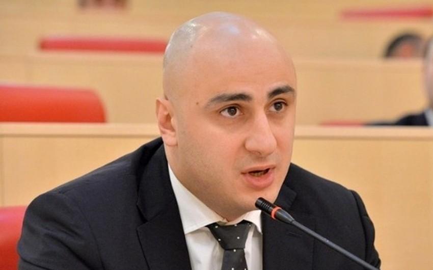 """Gürcü deputat: """"İvanişviliyə qarşı mübarizədə həbs olunmaq mənim üçün şərəfdir"""""""