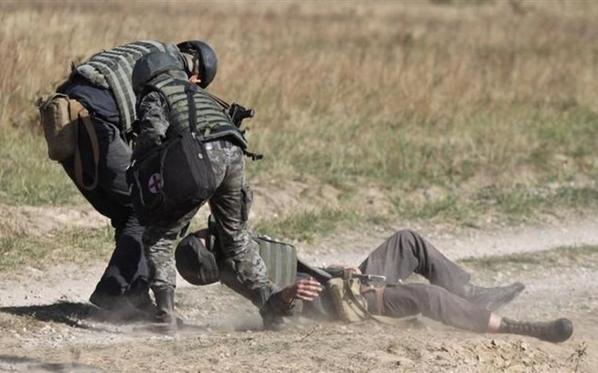 Ukrayna sutka ərzində 1 hərbçisini itirib, 6-sı yaralanıb