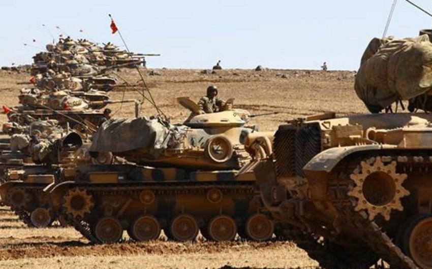 Türkiyə tankları Suriya sərhədini keçib və ölkənin içərisinə doğru hərəkət edir