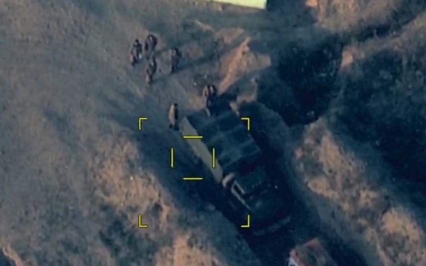 Gəncənin qisası - Ermənistan silahlı qüvvələrinin xeyli sayda canlı qüvvəsi məhv edilib