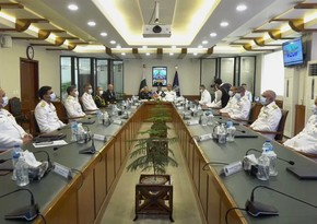 Commanders of Azerbaijan and Pakistan Naval Forces hold meeting