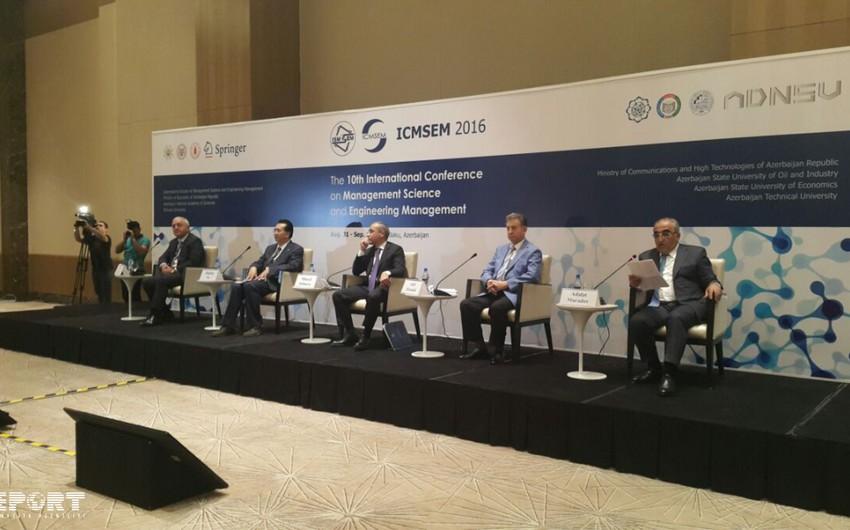 Baku hosts opening ceremony of 10th international conference of ICMSEM 2016