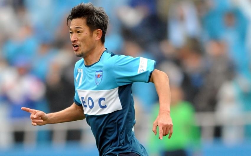 Yaponiya klubu 54 yaşlı futbolçu ilə müqaviləni yenilədi