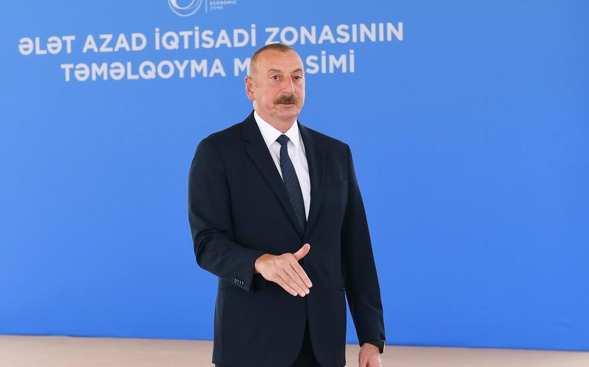 Azərbaycan lideri: Qələbə və Dağlıq Qarabağ münaqişəsinin həlli yeni bir vəziyyət yaradıb