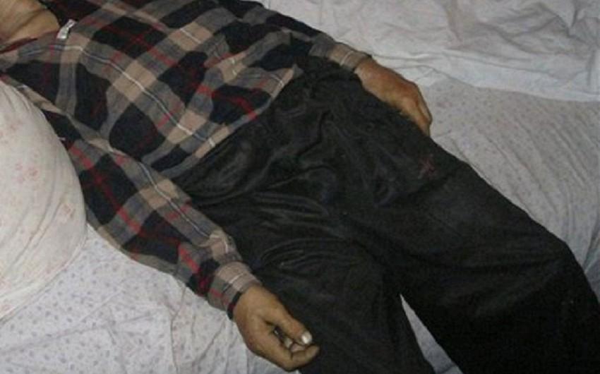Bakıda mənzildə 55 yaşlı əlil kişinin meyiti tapılıb