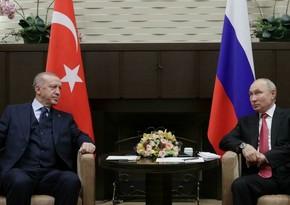 Erdogan, Putin discuss Karabakh issue in detail