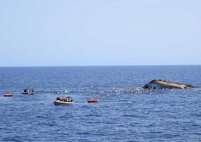 Cibuti sahillərində qaçqınların olduğu gəmi batıb, 34 nəfər ölüb