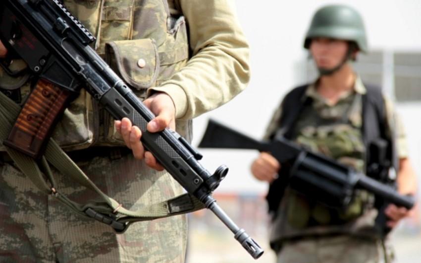 Türkiyədə terrorçularla atışmada 2 hərbçi şəhid olub, 5-i yaralanıb