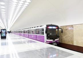 Bakı metrosu ötən ilin 202 günündə sərnişin daşımayıb