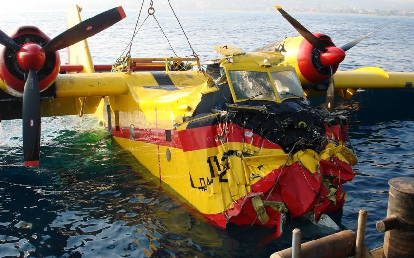 Противопожарный самолет разбился на границе Португалии и Испании