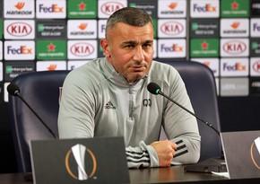 Qurban Qurbanov: Bu oyun Azərbaycan futbolunun tarixinə düşdü