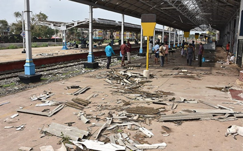 Hindistanda siklon 20 nəfərin ölümünə səbəb olub