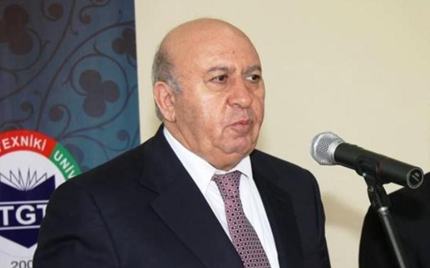 Ректор Азербайджанского технического университета освобожден от занимаемой должности
