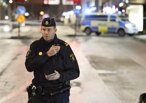 İsveçdə səkkiz nəfəri yaralayan şəxs saxlanıldı