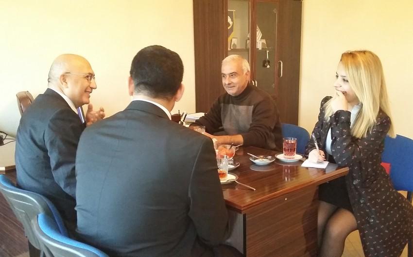 Главный консул Турции в Гяндже встретился с руководством клуба Кяпяз