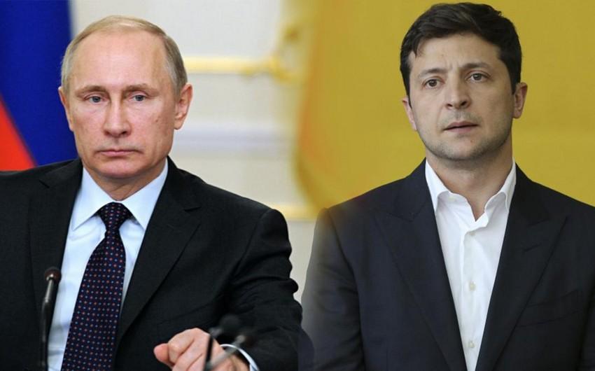 Volodimir Zelenski: Putinlə görüş olacaq