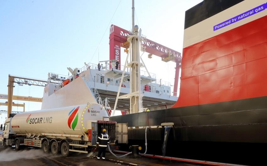 """""""SOCAR Marine"""" ilk dəfə kükürdsüz LNG təchizatı həyata keçirib"""