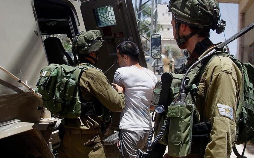 İsrail hərbçiləri İordan çayının qərb sahilində 11 fələstinlini həbs edib