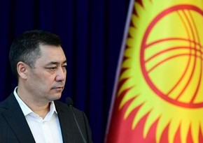 Kyrgyz president leaves for Russia