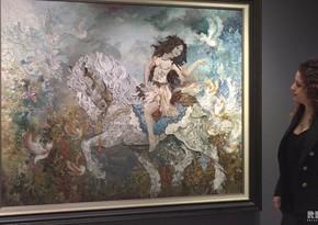 Тебризский художник: Я хочу провести в Азербайджане выставку, чтобы соотечественники увидели мои произведения - ВИДЕО