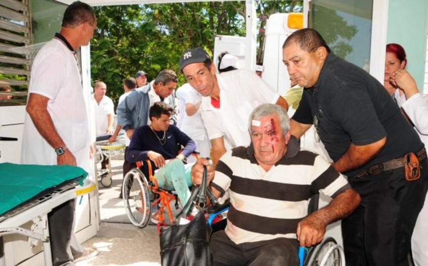 Kubada iki qatar toqquşub: 6 ölü, 50 yaralı