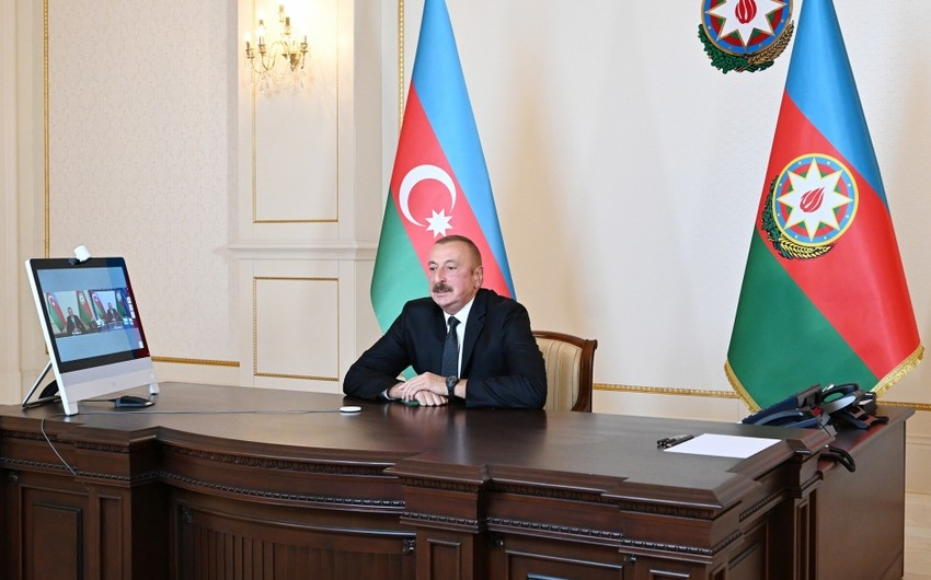 Ilham Aliyev responds to questions on Rossiya-1 TV channel's 60 minutes program