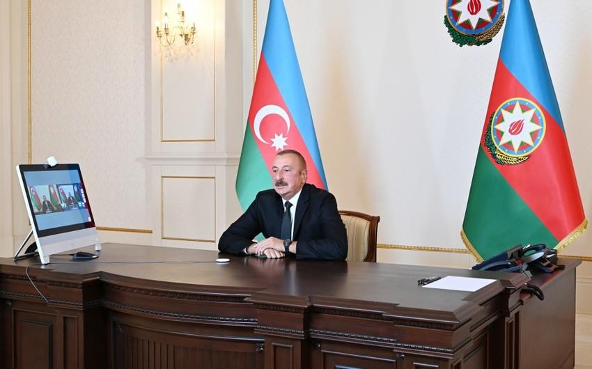 """Prezident İlham Əliyev """"60 dəqiqə"""" proqramında sualları cavablandırıb"""