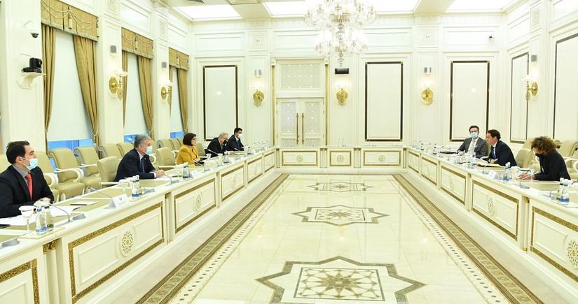Sahibə Qafarova NATO nümayəndə heyəti ilə görüşüb