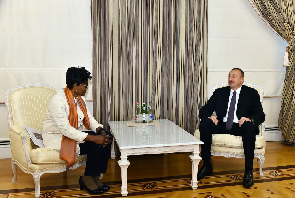 President Ilham Aliyev received World Bank Regional Director for South Caucasus