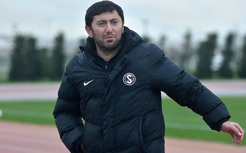 Главный тренер Сабаиля: До игры с Габалой я двумя руками был за одно очко