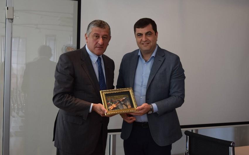 Azərbaycanın Gürcüstandakı səfiri Kvemo-Kartli regionuna səfər edib