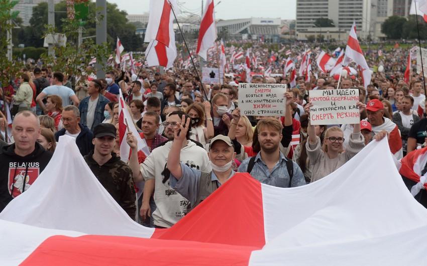 Belarusda etiraz aksiyasına qoşulan azərbaycanlı itkin düşüb