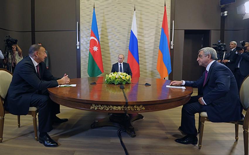 Путин сегодня обсудит с лидерами Армении и Азербайджана урегулирование в Карабахского конфликта