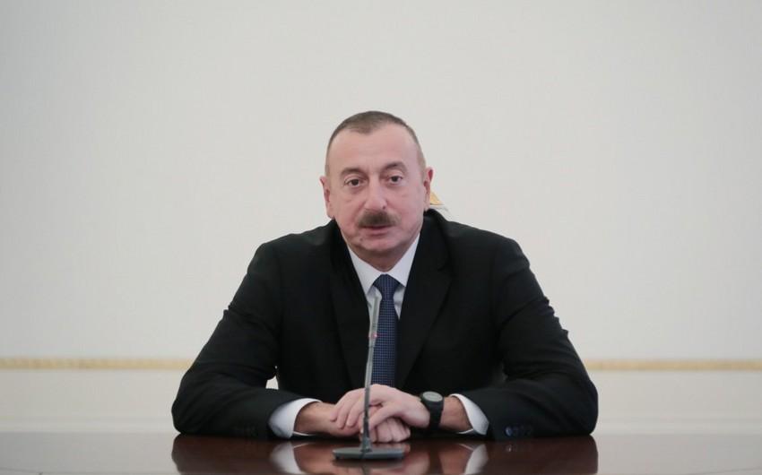 Prezident İlham Əliyev: Azərbaycanda vəziyyət sabitdir, ölkə uğurla inkişaf edir, daxili risklər və potensial təhlükələr yoxdur