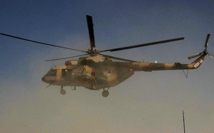 В Афганистане военный вертолет совершил жесткую посадку, есть раненые