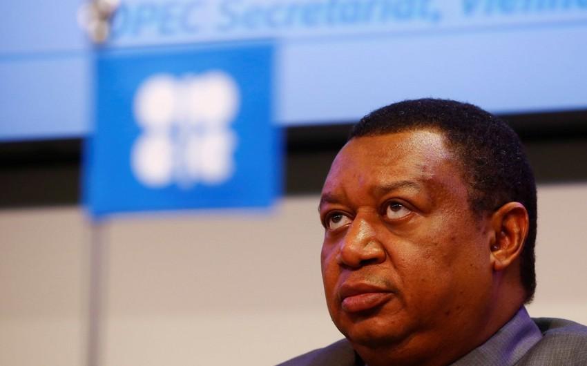 OPEC-in baş katibi neft bazarındakı vəziyyət haqqında danışıb