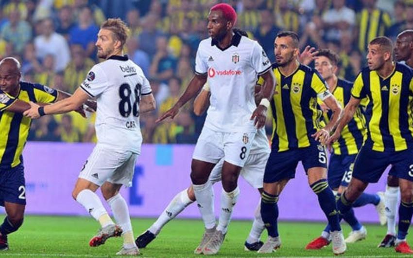 Fənərbağça - Beşiktaş görüşündə qalib müəyyənləşməyib