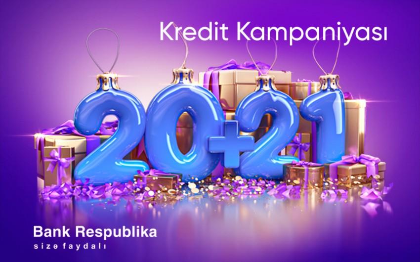 """Bank Respublika"" ""20 + 21"" kredit kampaniyasına start verir"