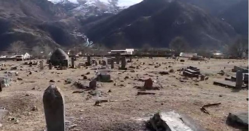 Adhan heard in Kalbajar cemetery after 27 years