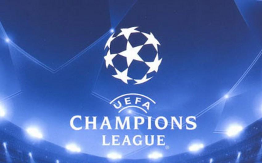Bu gün futbol üzrə Çempionlar Liqasında IV tura start veriləcək