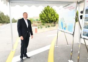 Hacıqabul-Muğan avtomobil yolu yenidənqurmadan sonra istifadəyə verilib - YENİLƏNİB