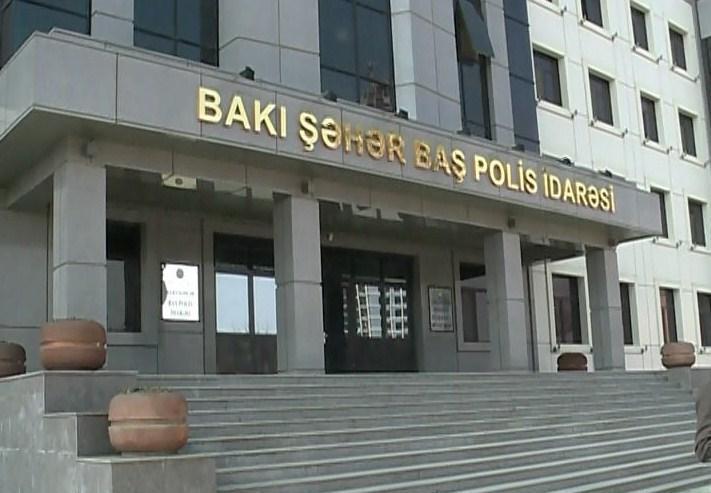 Bakıda polis gücləndirilmiş iş rejiminə keçib