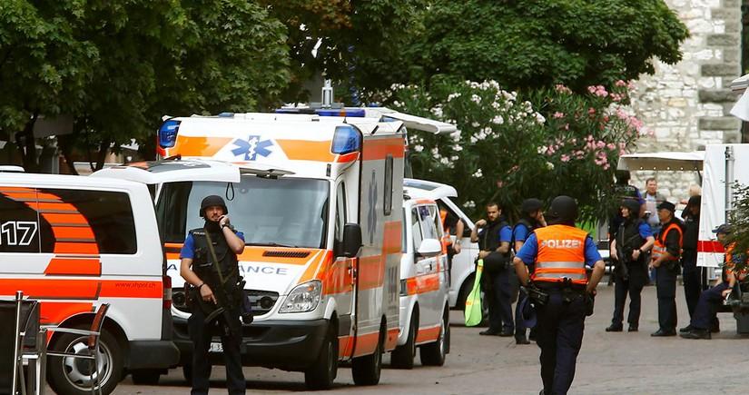 İsveçrədə qadın terror aktı törədib, xəsarət alanlar var