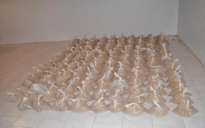 Azərbaycan ərazisi ilə İrandan Gürcüstana aparılan 306 kiloqramdan artıq heroin müsadirə edilib