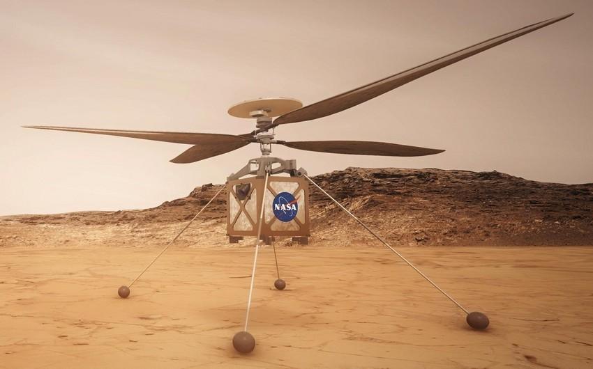 NASA helikopterinin Marsda dördüncü uçuşu uğursuz olub