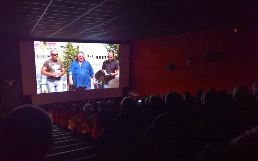 Jerar Depardyenin iştirakı ilə Azərbaycan haqqında çəkilmiş film Belçikada nümayiş olunub