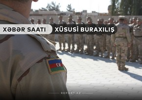 """""""Xəbər Saatı"""": Azərbaycanda qismən səfərbərlik elan edildi"""
