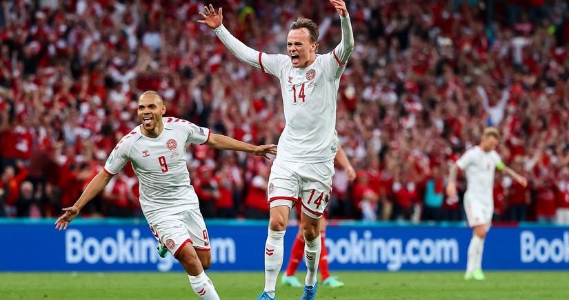 Евро-2020: Дания разгромила Россию и вышла в плей-офф