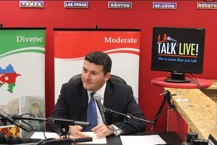 Los Angeles's Talk LIVE radio aired a program on Azerbaijani culture, history and literature - VIDEO