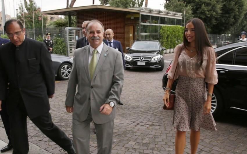 Heydər Əliyev Fondunun vitse-prezidenti FAO-nun baş direktoru ilə görüşüb